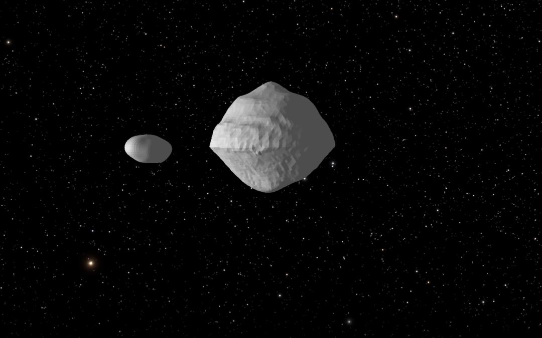 L'astéroïde 1999 KW4 va se rapprocher à 5 182 015 km de la Terre