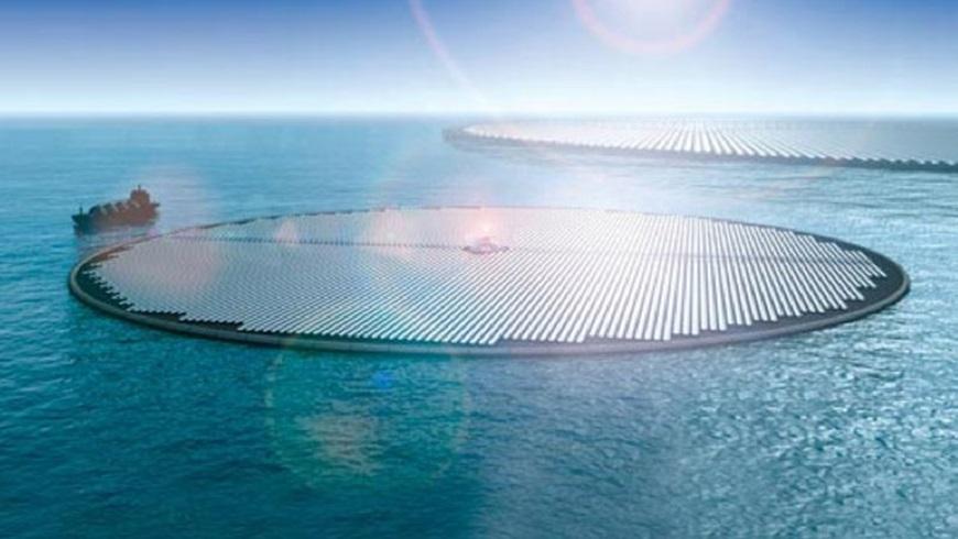 Des centrales électriques flottantes pour recycler le Co2